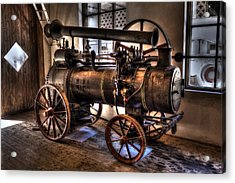 Steam Engine Acrylic Print
