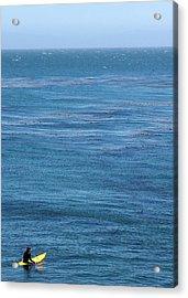 Steam Lane Surfer Acrylic Print