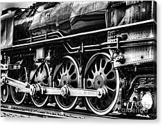 Steam Train No 844 - IIi Acrylic Print by Donna Greene