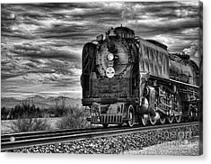 Steam Train No 844 - Iv Acrylic Print