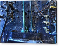 Steampunk 3 Acrylic Print by Bob Christopher