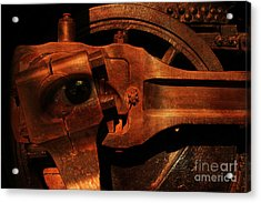 Steampunk Part Number 93063 Ghost In The Machine Acrylic Print by Wingsdomain Art and Photography