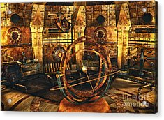 Steampunk Time Lab Acrylic Print