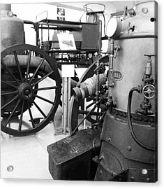 #steampunk #wheel Acrylic Print