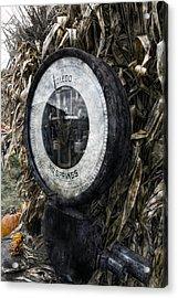 Steampunkin Scale Acrylic Print
