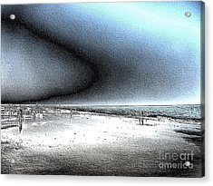 Steel Beach Acrylic Print by Dana Patterson