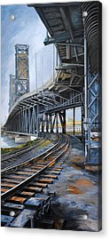 Steel Bridge 2012 Acrylic Print