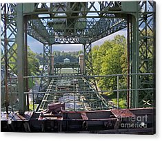 Steel Construction 2 Acrylic Print