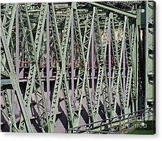 Steel Construction Acrylic Print