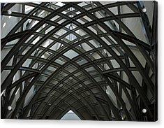 Steel Acrylic Print by Joseph Yarbrough