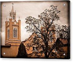 Albuquerque, New Mexico - Steeples Acrylic Print