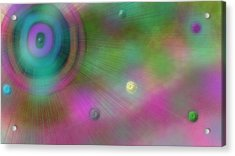 Stellar Evolution Acrylic Print by Rosana Ortiz