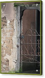 Step Into The Past Acrylic Print