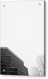Step Tiered Office Building With Dark Windows Acrylic Print by Jetta Productions, Inc