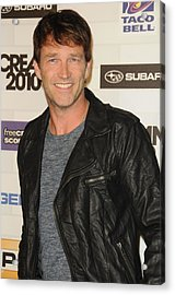 Stephen Moyer At Arrivals For Spike Acrylic Print by Everett