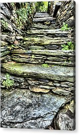 Stepping Through History Acrylic Print by JC Findley