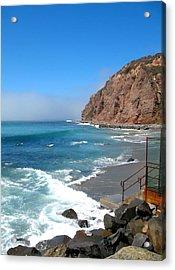 Steps To The Beach. Dana Point California Acrylic Print by Connie Fox