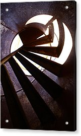 Steps Two See  Acrylic Print by Empty Wall