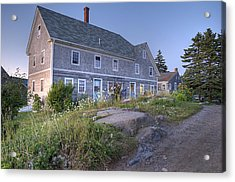 Sterling Harbor House Acrylic Print by J R Baldini Master Photographer
