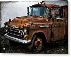 Still Going Acrylic Print by Bill Cannon