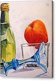 Still Life 2 Acrylic Print by D K Betts