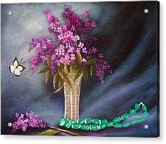 Still Life 8 Acrylic Print by Joni McPherson