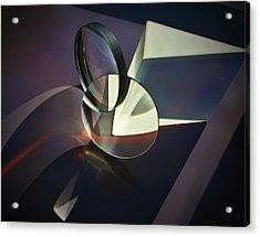 Still Life With Glass Acrylic Print