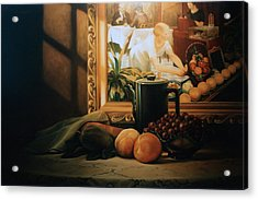 Still Life With Hopper Acrylic Print by Patrick Anthony Pierson