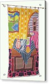 Still Life With Pear Acrylic Print by Rollin Kocsis