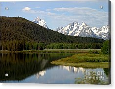 Acrylic Print featuring the photograph Still Waters by Living Color Photography Lorraine Lynch