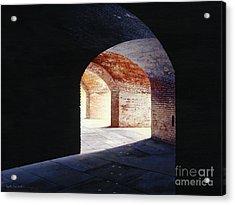 Stillness Acrylic Print by Lynette Cook