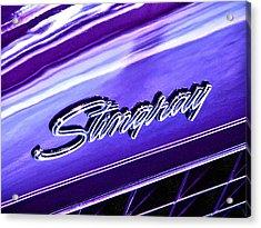 Stingray Acrylic Print by Bill Robinson