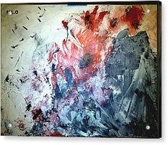 Stolen Kisses Acrylic Print by Montserrat Lopez Ortiz