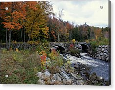 Stone Bridge Autumn 2011 Acrylic Print