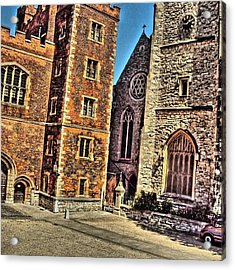 Stone Buildings, So Classic And Lovely Acrylic Print