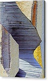 Stone Geometrics Acrylic Print
