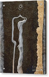 Stone Men 01 - Her Acrylic Print by Variance Collections