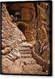 Stone Stairway Acrylic Print