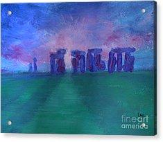 Stonehedge Sunrise England Acrylic Print