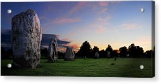 Acrylic Print featuring the photograph Stonehenge's Older Brother  by John Chivers