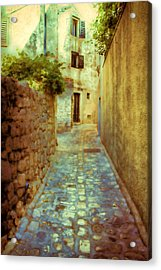 Stones And Walls Acrylic Print by Jasna Buncic