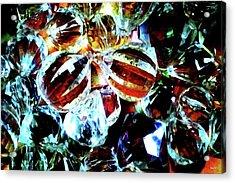 Stones2 Acrylic Print by Rom Galicia