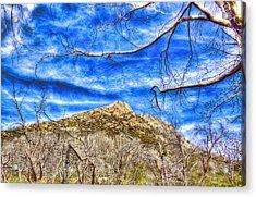 Stonewall Peak Acrylic Print by Jeffery Reynolds