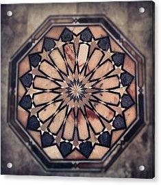 #stonwork #stons #classic #old #house Acrylic Print