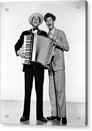Stooge, Dean Martin, Jerry Lewis, 1952 Acrylic Print by Everett