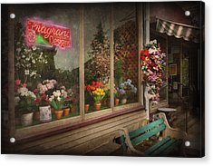 Store - Belvidere Nj - Fragrant Designs Acrylic Print by Mike Savad