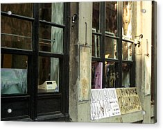 Store Front Acrylic Print