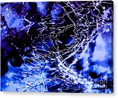Storm Abstract Acrylic Print by Tashia Peterman