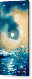 Acrylic Print featuring the painting Storm by Ana Maria Edulescu
