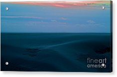 Storm And Blued Dunes Acrylic Print